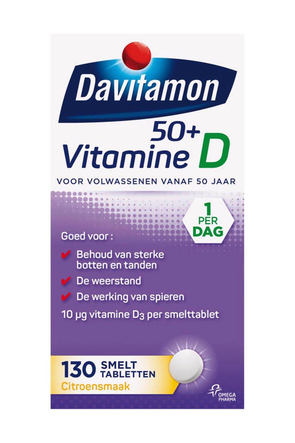 Davitamon Vitamine D 50+ Smelttablet - 130 tabletten