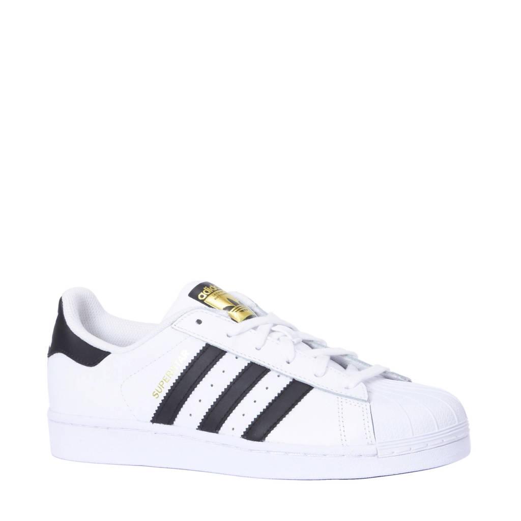 adidas originals  Superstar sneakers, Wit/zwart