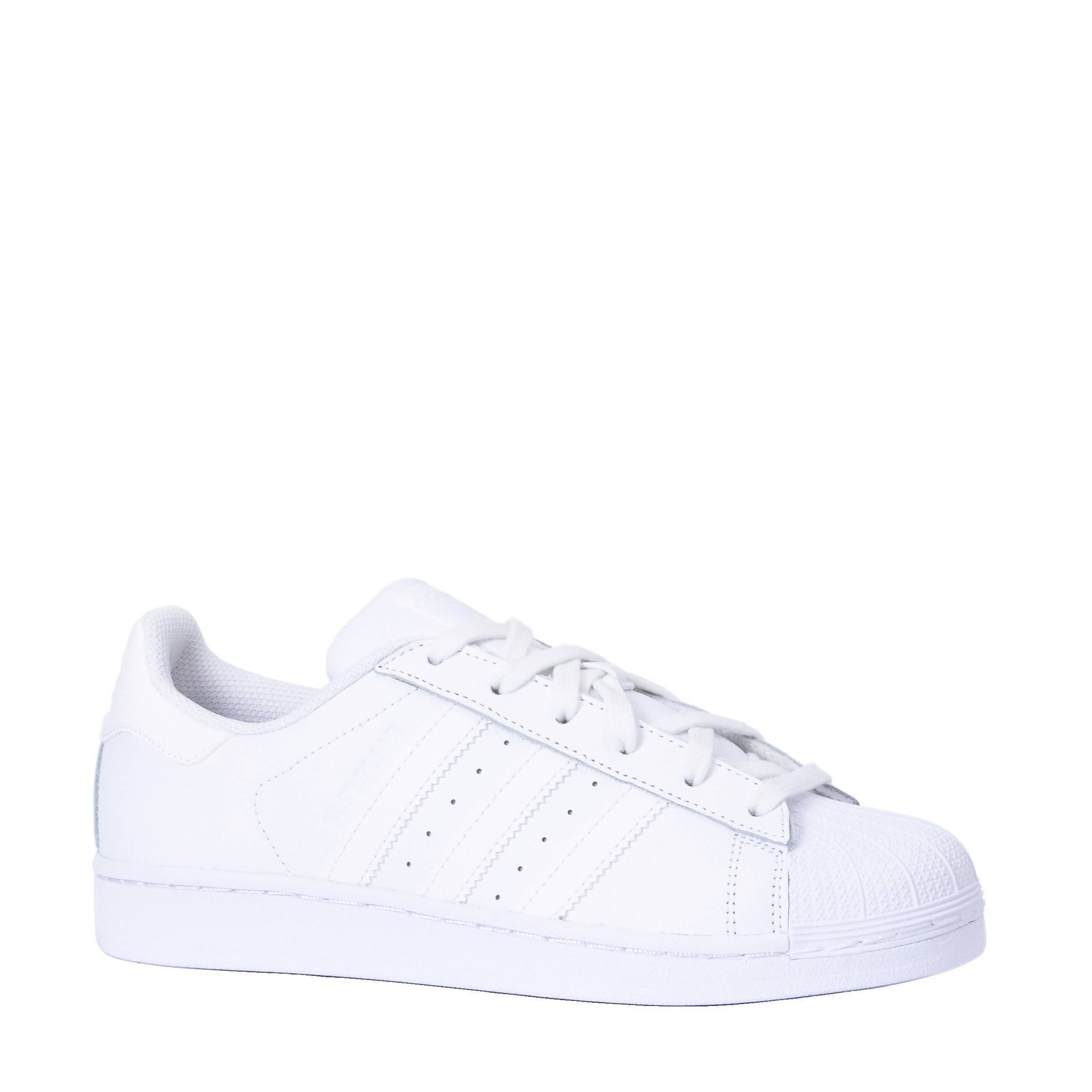 superstar adidas dames wit