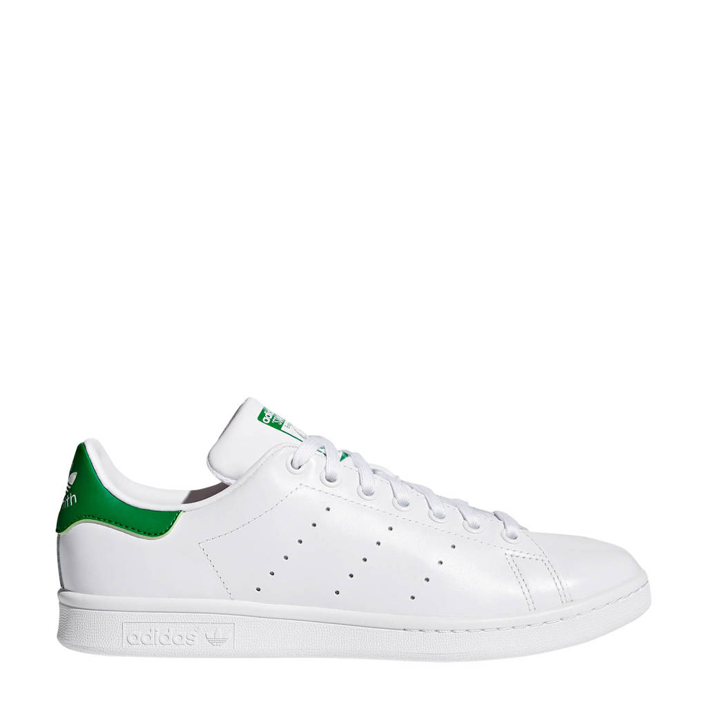 adidas Originals Stan Smith  sneakers wit/groen, Wit/groen