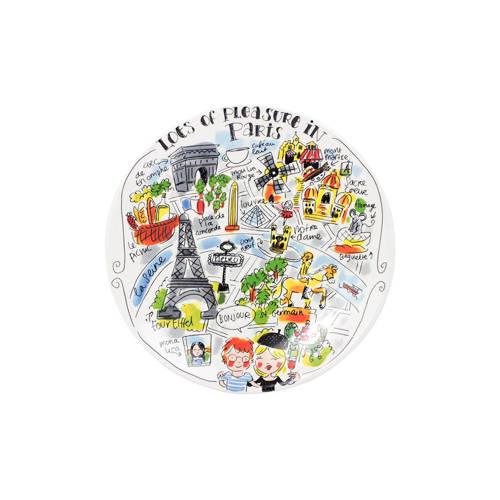 Blond Amsterdam ontbijtbord City Parijs (Ø22 cm) kopen