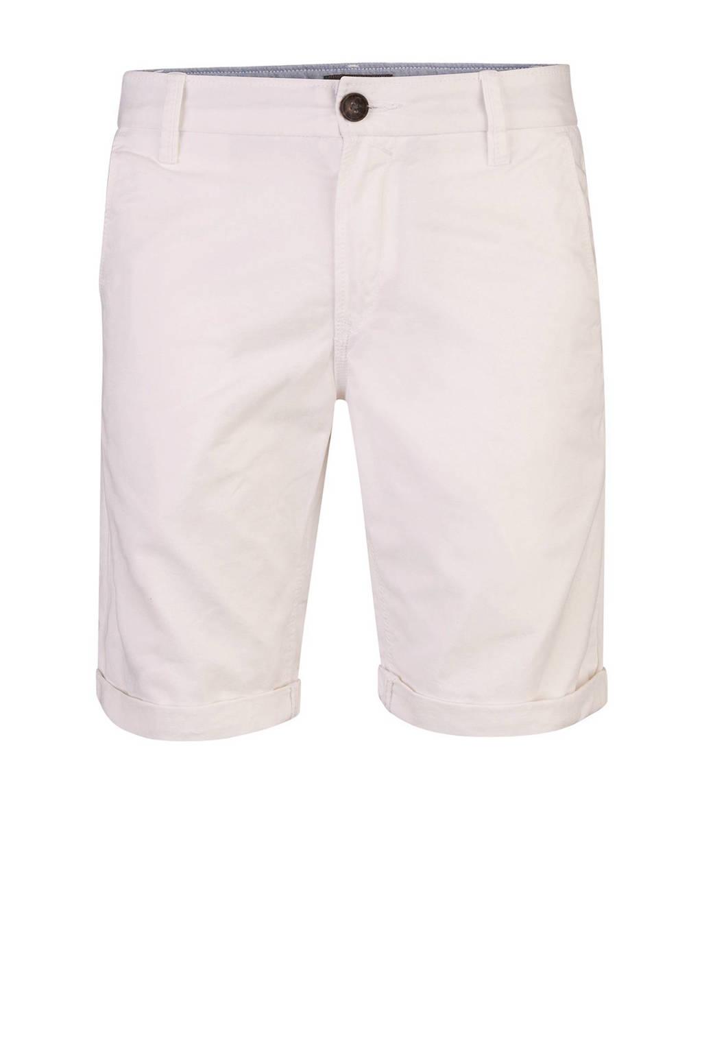 WE Fashion regular fit bermuda gebroken wit, Gebroken wit