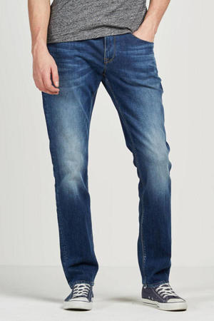 straight fit jeans Denton mid stone