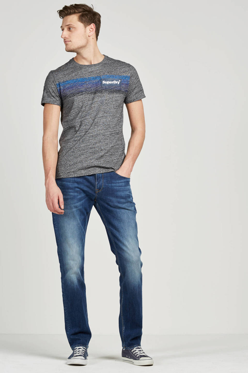 Tommy Hilfiger regular fit jeans Denton, 919 Mid stone