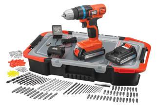 EGBL18BAST-QW accuboor/schroefmachine + accessoireset (150st)