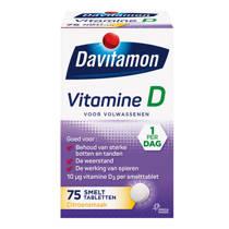 Davitamon Vitamine D Volwassenen Smelttablet - 75 stuks