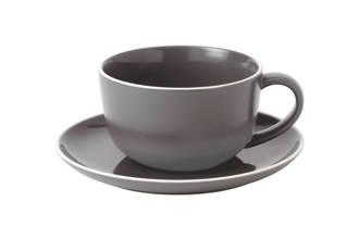 Gordon Ramsay by Royal Doulton cappuccinokopje en schotel  (set van 2)
