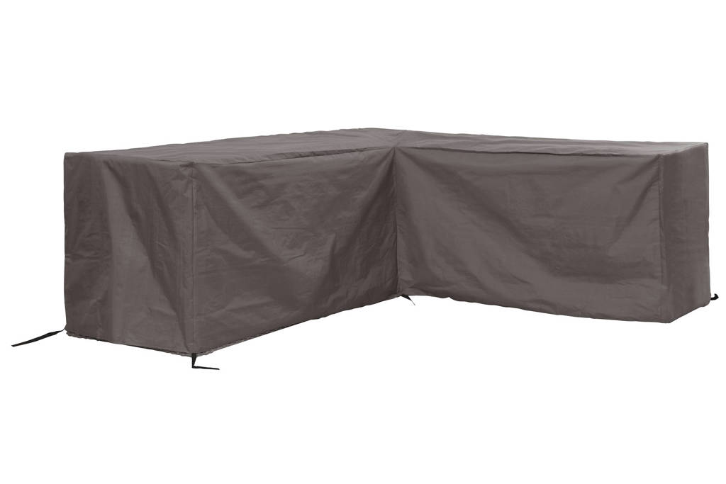 Outdoor Covers tuinmeubelhoes loungeset hoekopstelling (tot 215 cm), Grijs
