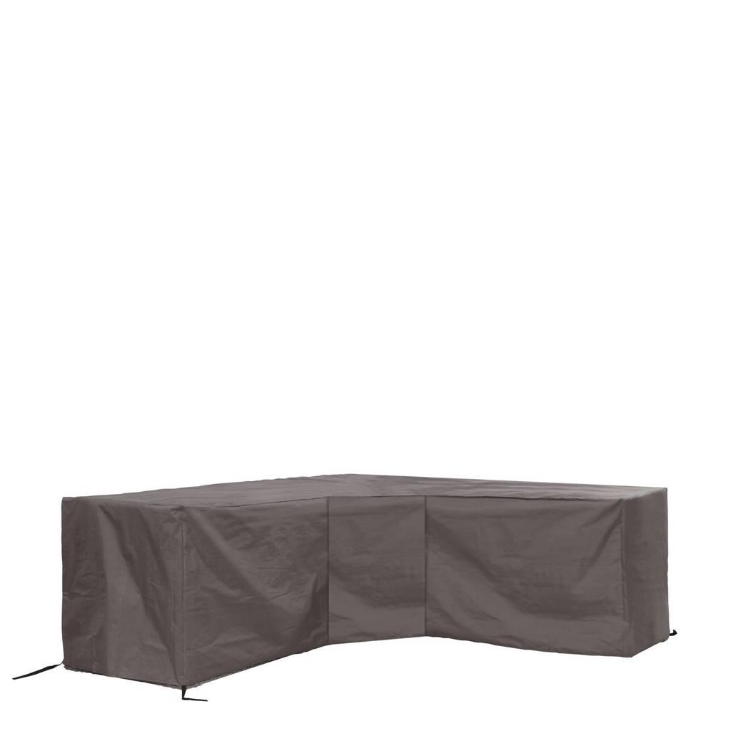 Outdoor Covers tuinmeubelhoes loungeset hoekopstelling met trapeziumhoek (tot 275 cm), Grijs