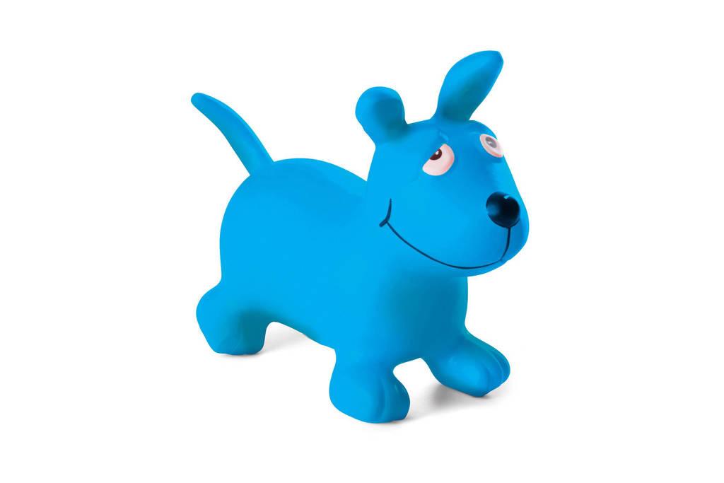 BS Toys Skippy Hond met pomp, Blauw