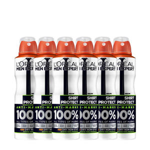 SOS Protect Shirt deodorant spray - multiverpakking