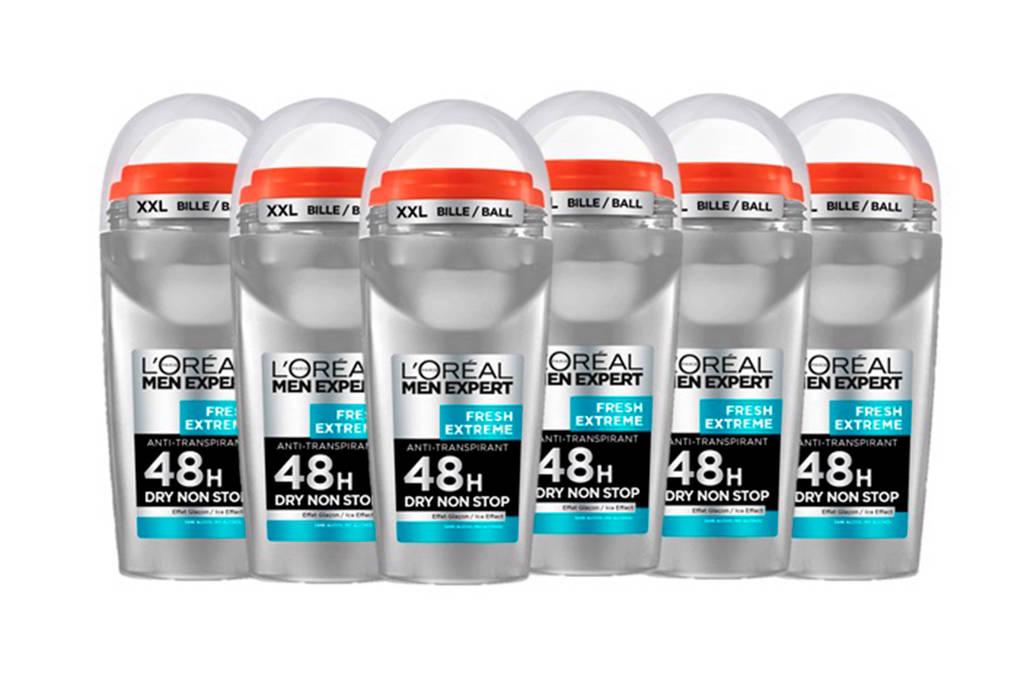 L'Oréal Paris Men Expert Fresh Extreme deodorant roller - multiverpakking