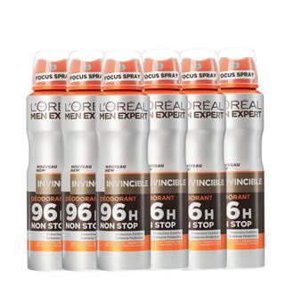 Men Expert Invincible deodorant spray - multiverpakking