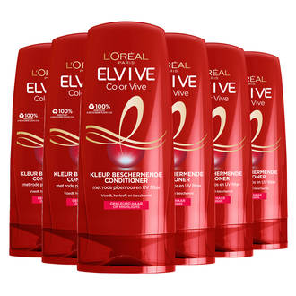 Elvive Color Vive cremespoeling - 6x 250ml multiverpakking