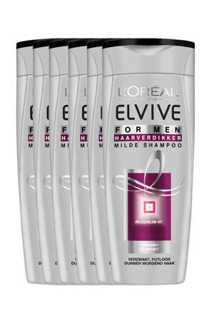 Haarverdikker XY Men shampoo - 6x 250ml multiverpakking