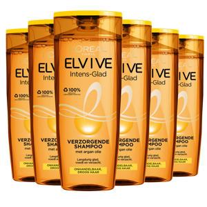 Intens Glad shampoo - 6x 250ml multiverpakking