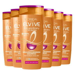 Curl Nutrition shampoo - 6x 250ml multiverpakking