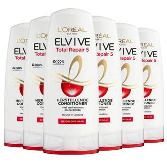 Elvive Total Repair 5 cremespoeling (6 stuks)