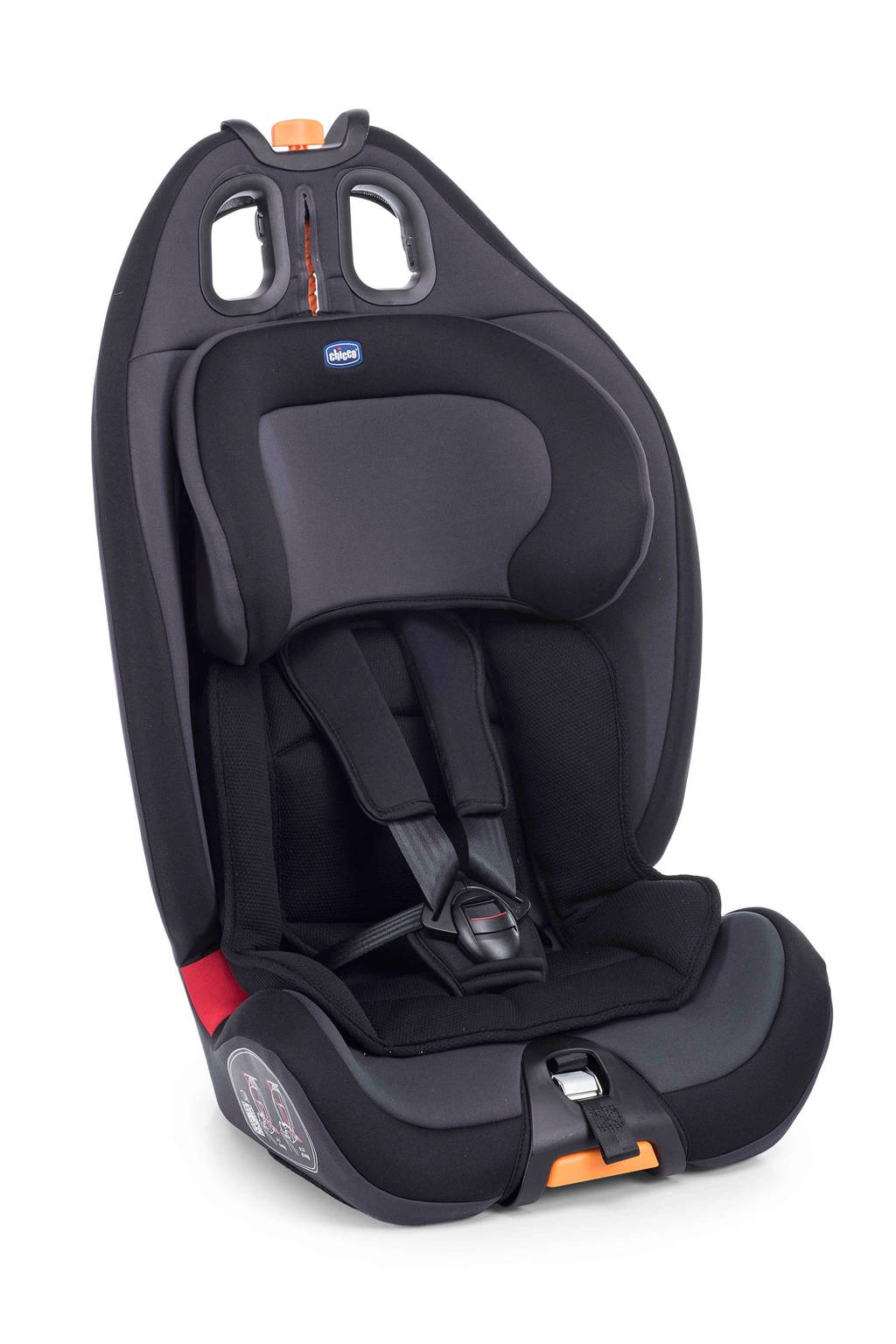 Chicco Gro-up 123 autostoel (9-36 kg) zwart, Zwart