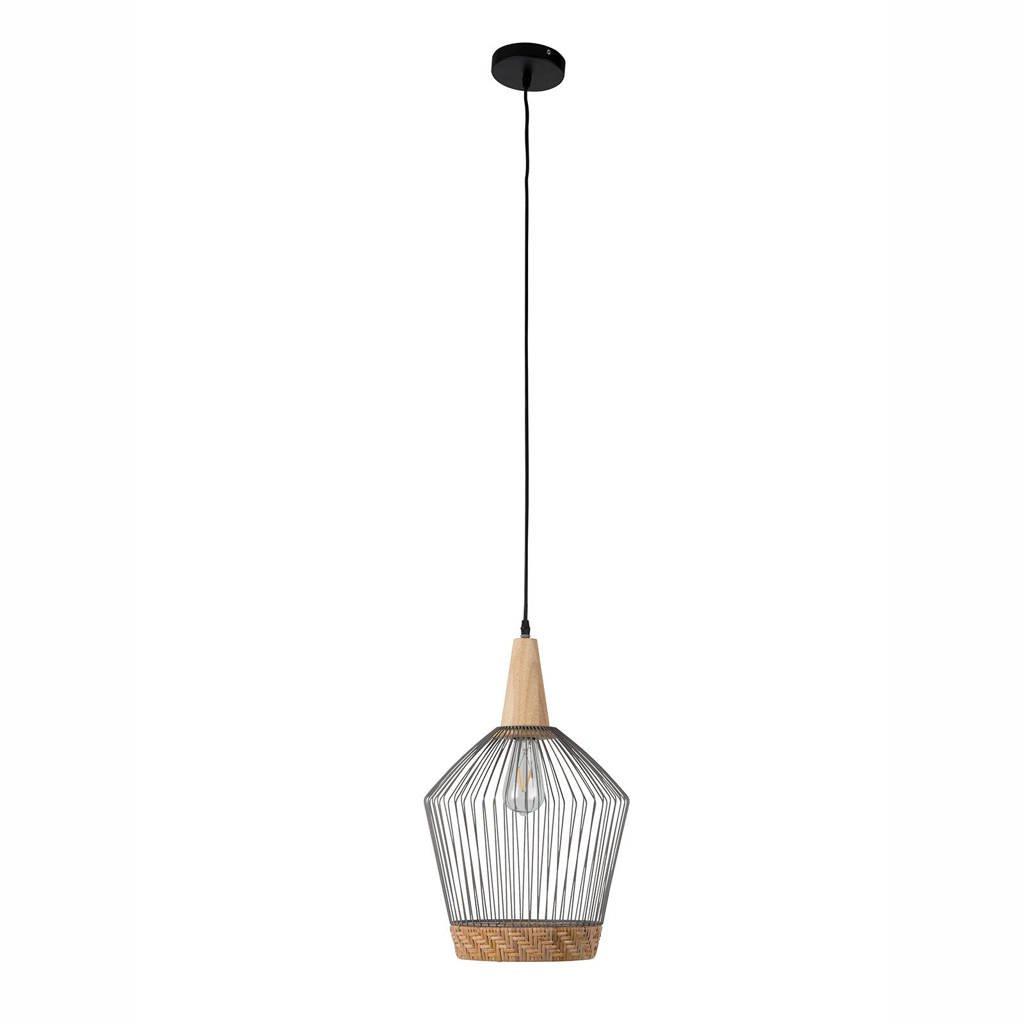 Zuiver Birdy Long Hanglamp, Bruin/zilver