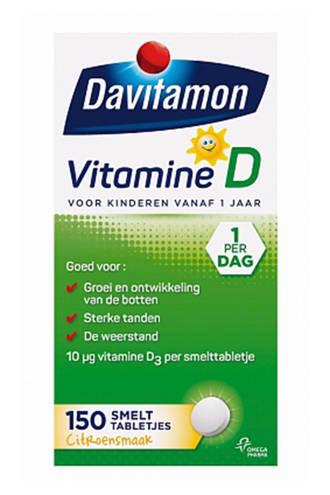 Vitamine D Kinderen Smelttablet - 150 stuks