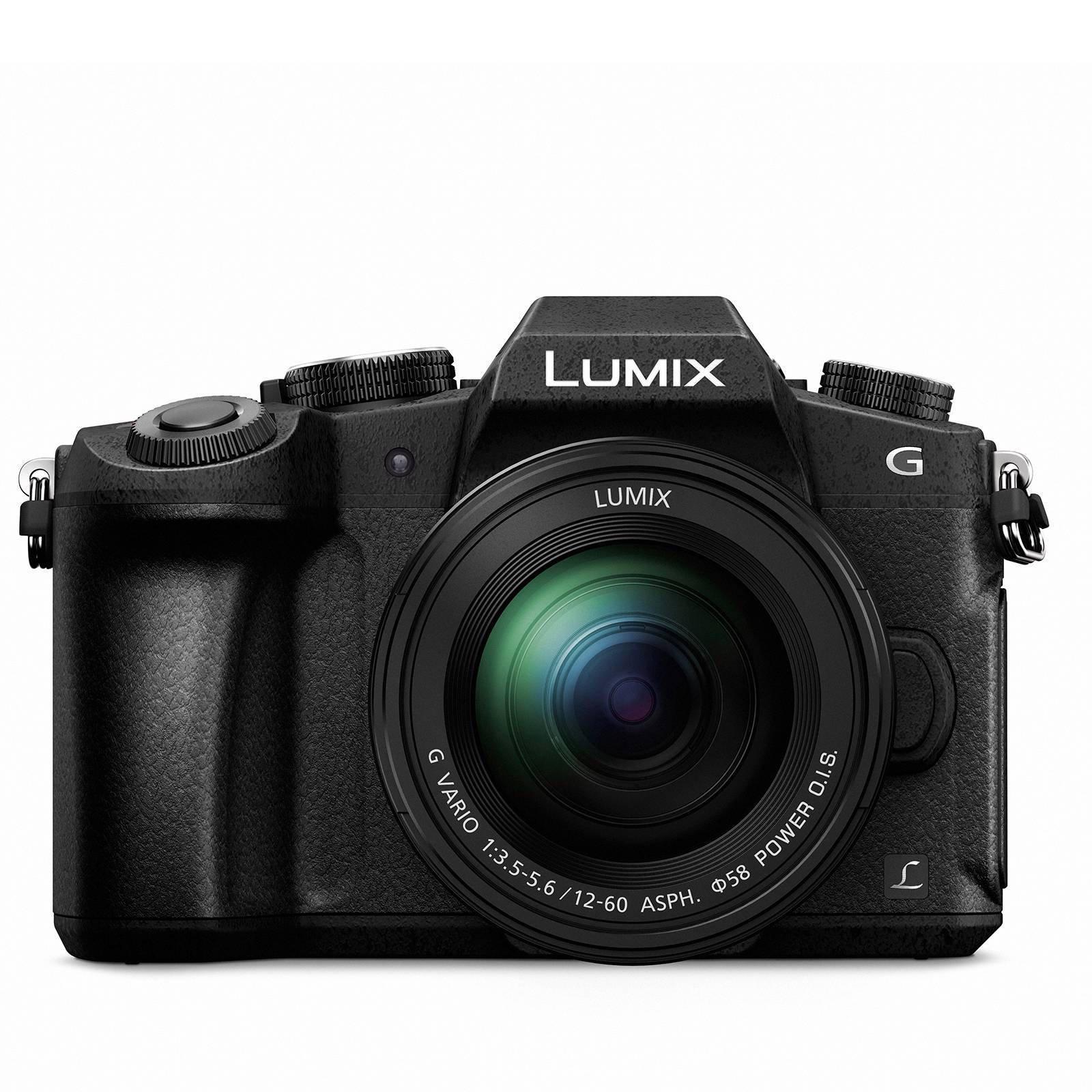 Panasonic DMC-G80 Lumix G + 12-60mm systeem camera