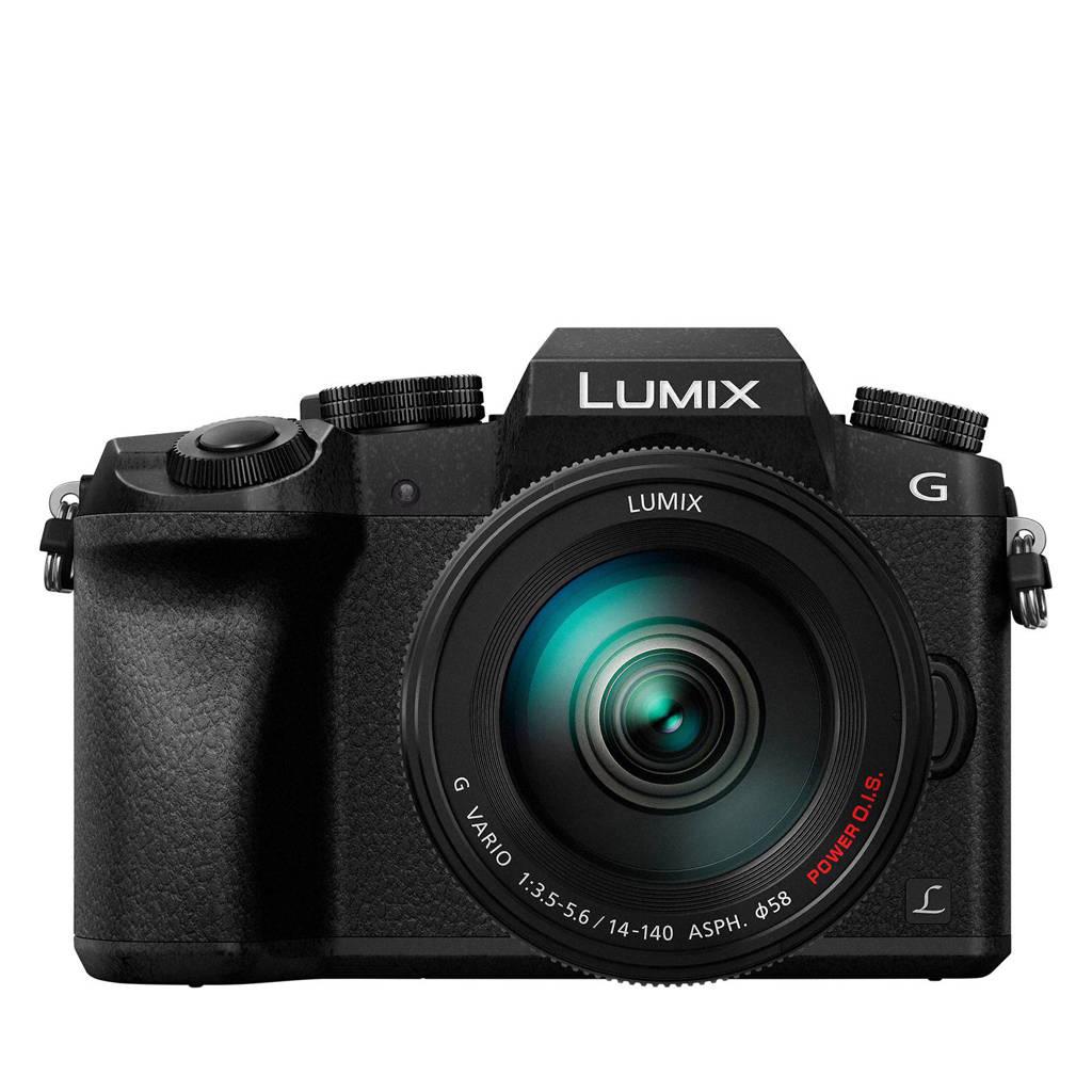 Panasonic DMC-G7 Lumix G + 14-140mm systeem camera