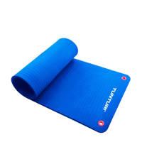 Tunturi 140 cm fitness mat Pro 140 cm, Blauw