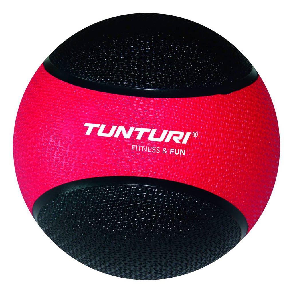 Tunturi Medicine Ball / Crossfit ball - 3 kg - Rood/Zwart