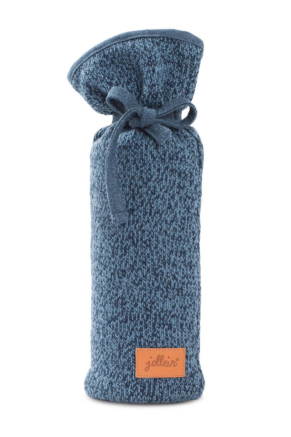 Jollein stonewashed knit kruikenzak marine, Marine