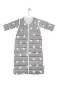 Jollein Little Star 4-seizoenen baby slaapzak 18-24 mnd grijs, Grijs