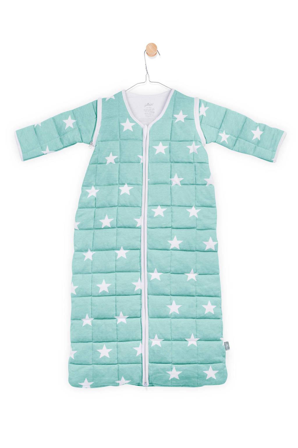 Jollein Little Star 4-seizoenen baby slaapzak 18-24 mnd jade, Jade
