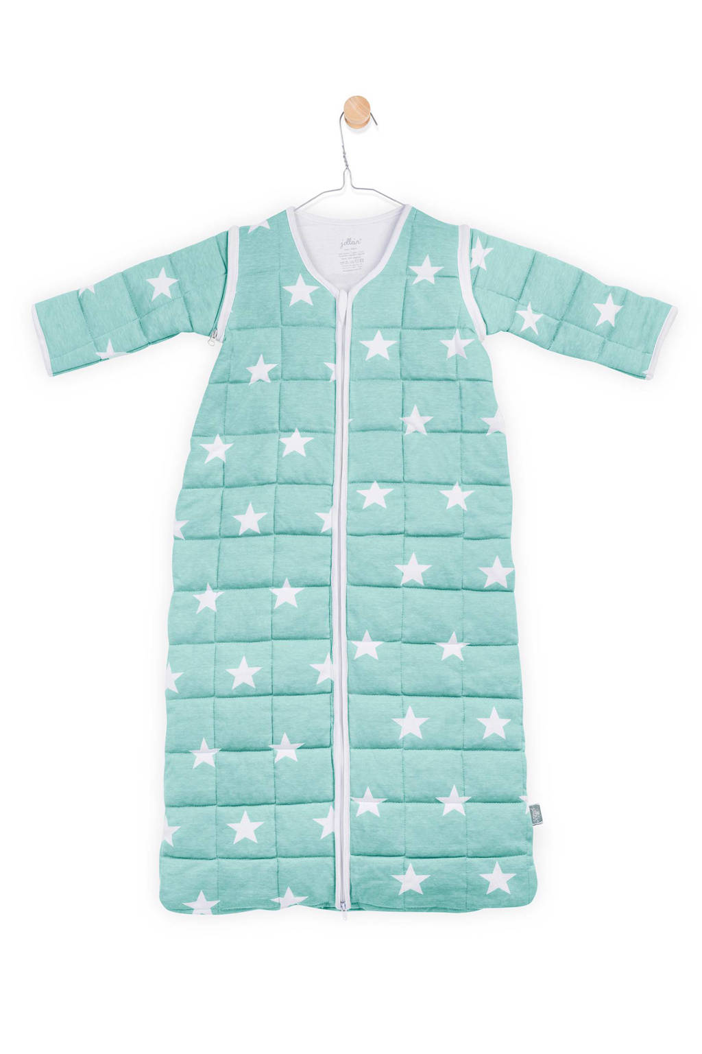 Jollein Little Star 4-seizoenen baby slaapzak 0-6 mnd jade, Jade