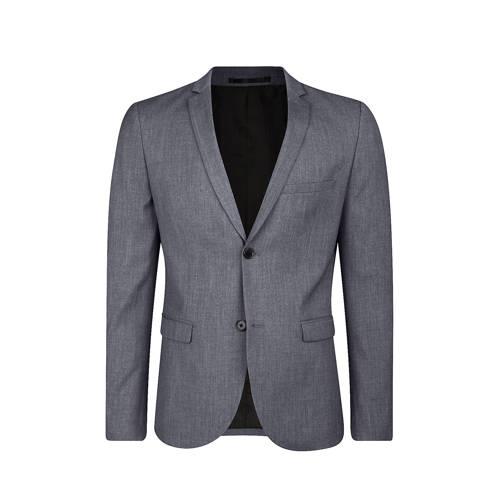 WE Fashion skinny fit colbert grijs
