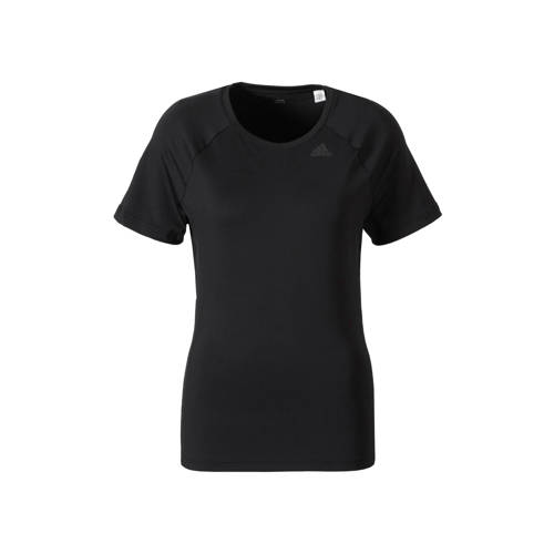 Adidas D2M Solid Damen Trainingsshirt (schwarz) XS