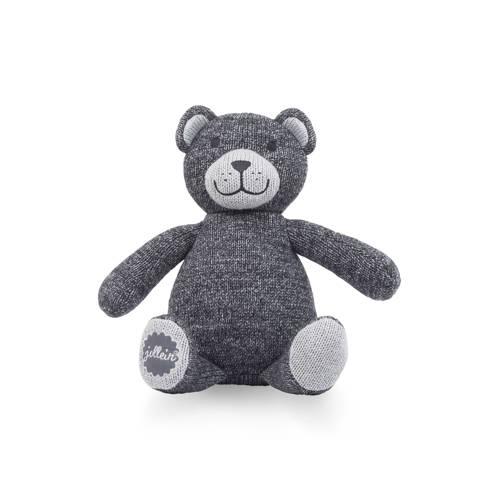 Jollein natural knitbeer knuffel 28 cm kopen