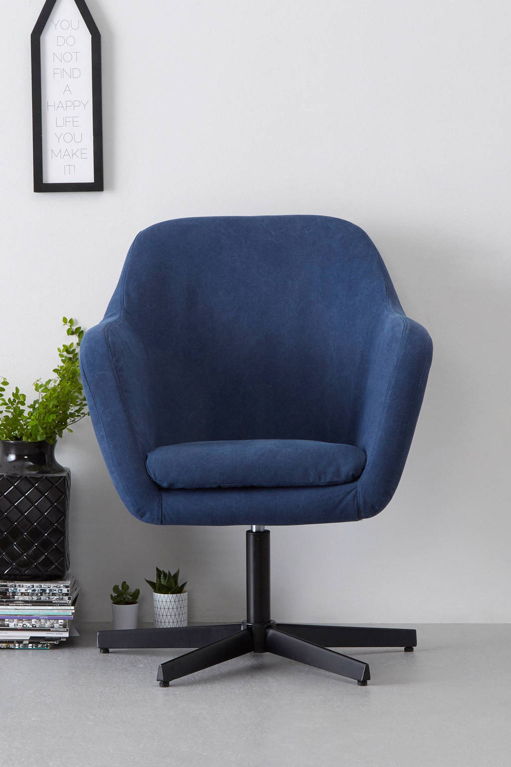 whkmp's own fauteuil Thron, Blauw