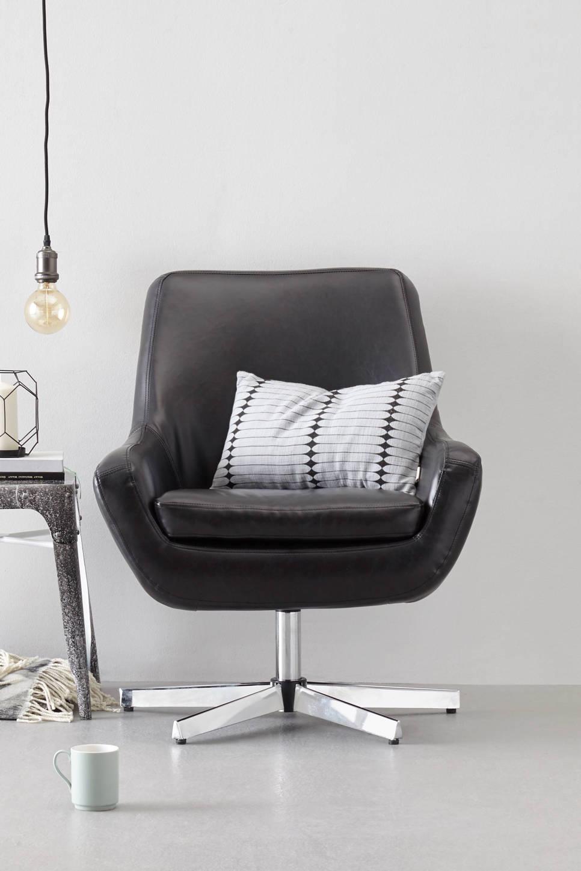 whkmp's own fauteuil Don , Zwart