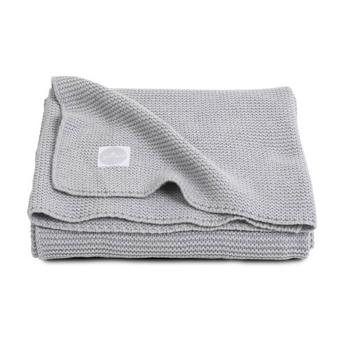 Jollein basic knit ledikantdeken 100x150 cm