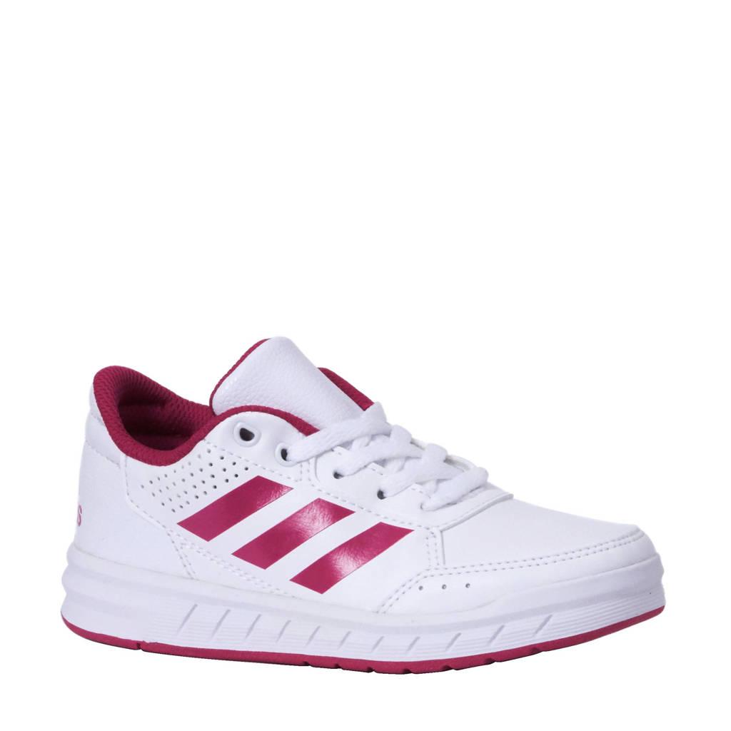 adidas   AltaSport K sportschoenen, Wit/roze