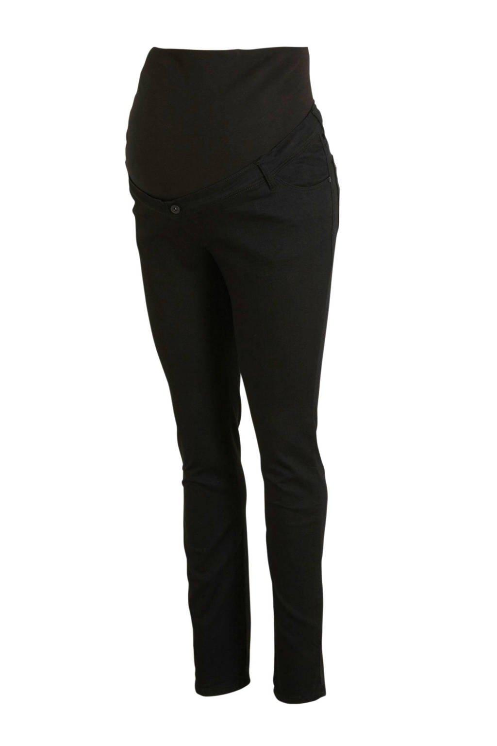 LOVE2WAIT plus size positie skinny jeans, Zwart