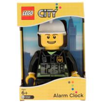 LEGO City brandweerman met alarmklok
