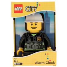 City Brandweerman met alarmklok