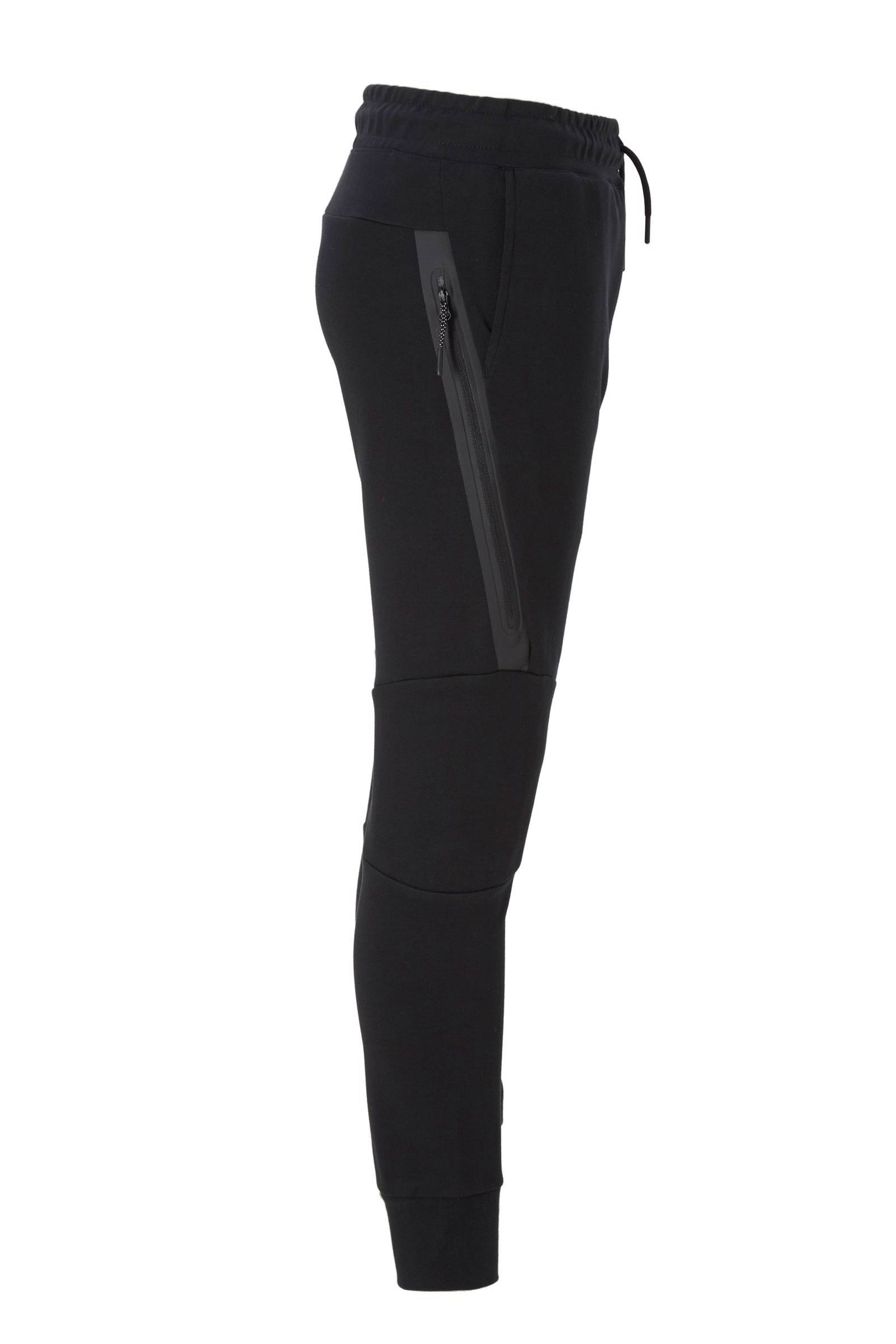 Zwarte Joggingbroek Jongens.Tech Fleece Joggingbroek