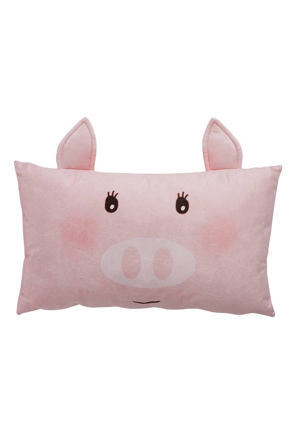Covers & Co sierkussen Piggy (30x50 cm) , Roze