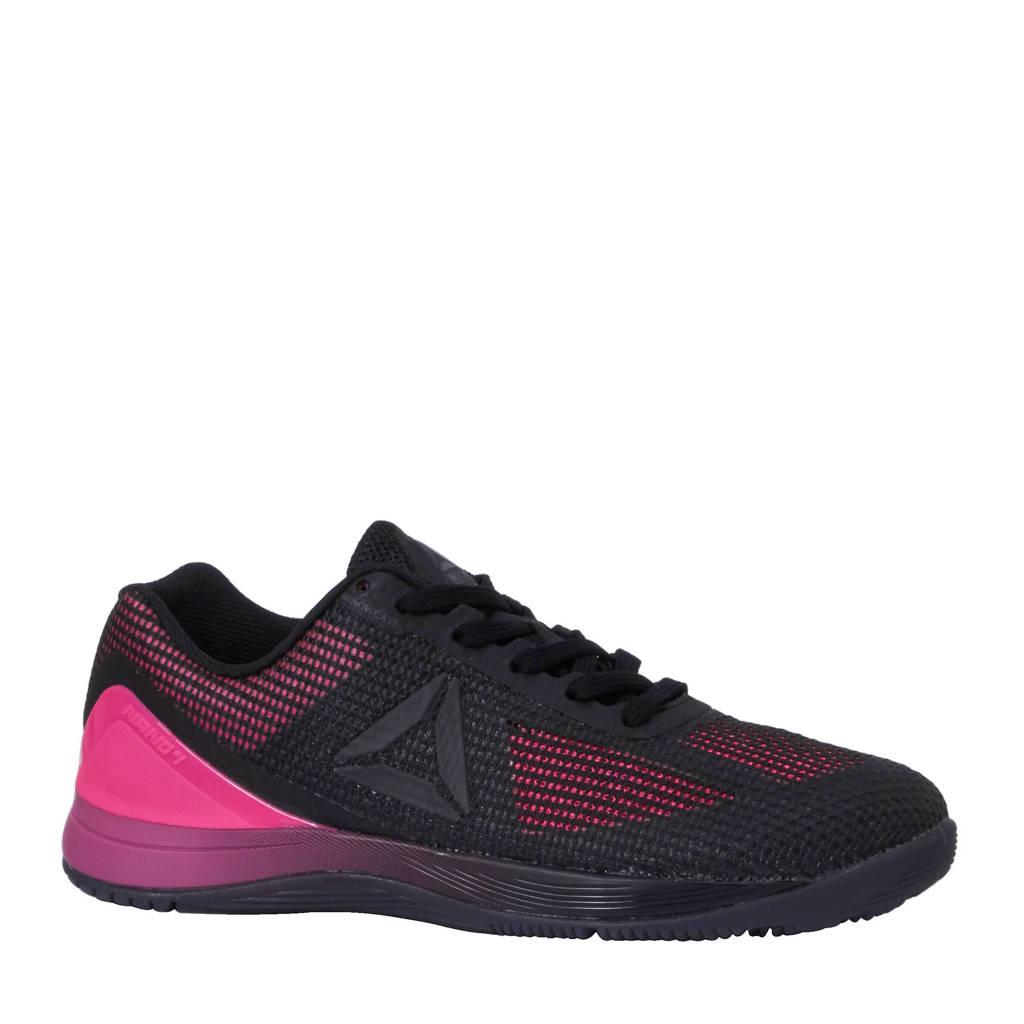41dff3e2194 Reebok CrossFit Nano 7.0 fitness schoenen, Roze/zwart/grijs/wit