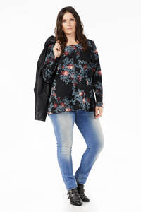 LTB Plus Molly high waisted slim fit jeans, Lichtblauw