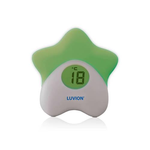 Luvion Glowstar nachtlampje-thermometer