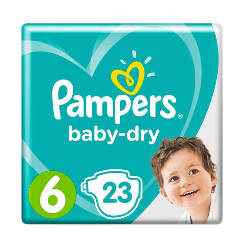 Pampers Baby-Dry maat 6 (13-18 kg) 23 luiers kopen