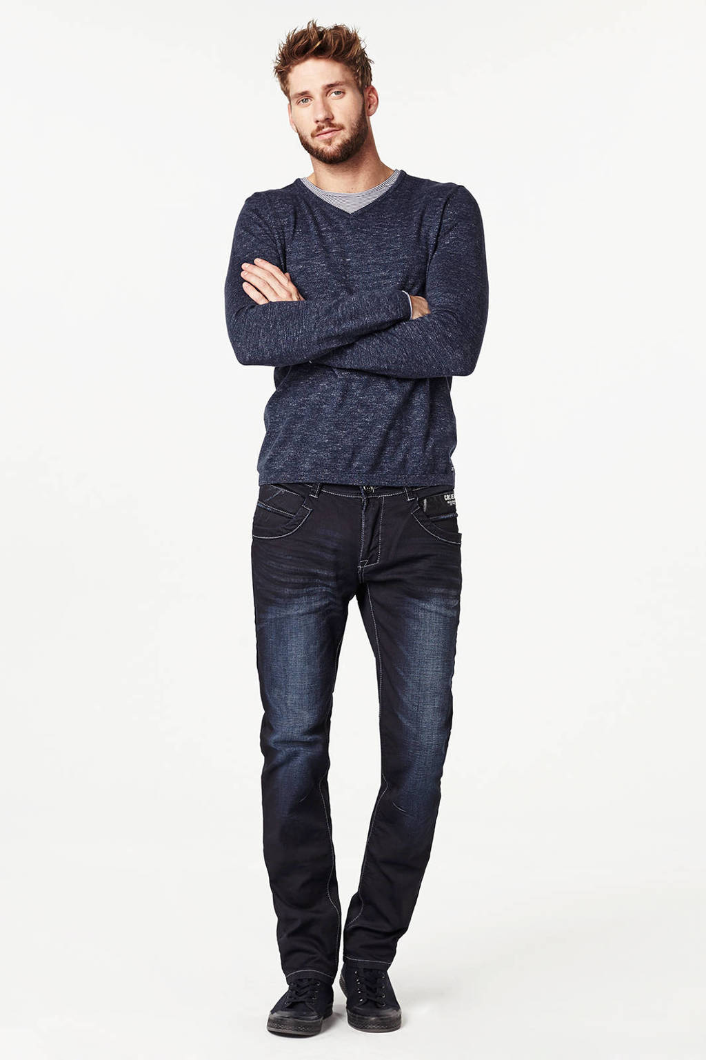 Cars regular fit jeans BLACKSTAR, Coated Harlow